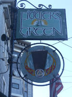 Fiddlers Green Sign by discoinferno84