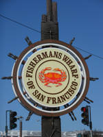 Fisherman's Wharf Sign by discoinferno84