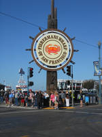 Fisherman's Wharf Sign Again by discoinferno84