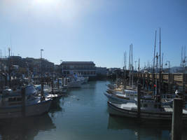 Fisherman's Wharf Boats by discoinferno84