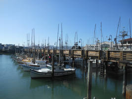 Fisherman's Wharf Boats 2 by discoinferno84