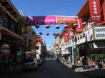 Walking Through Chinatown