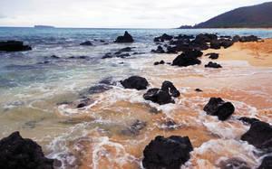 Rocks At Big Beach by discoinferno84