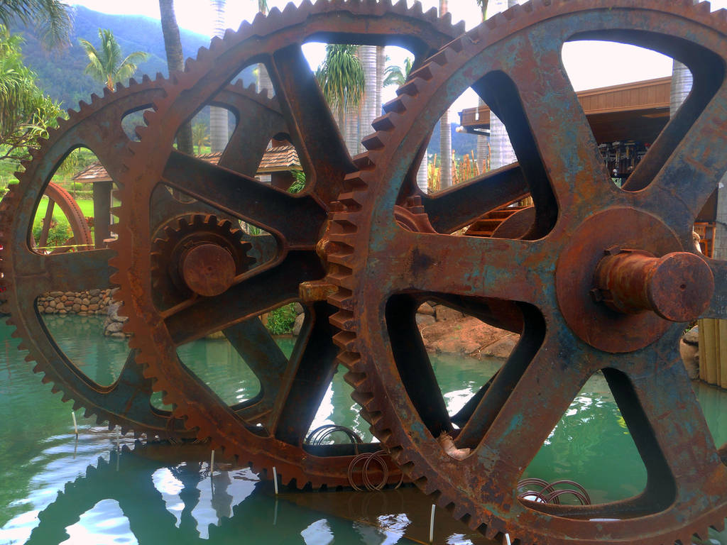Rusty Gears by discoinferno84