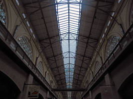 Inside The San Francisco Ferry Building by discoinferno84