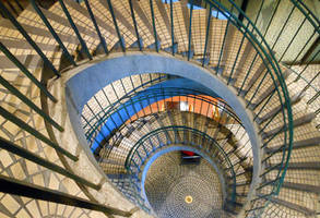Spiral Staircase by discoinferno84