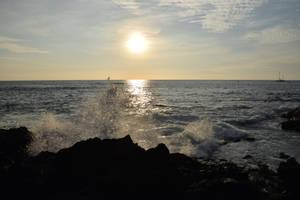 Kona Sunset Splash by discoinferno84