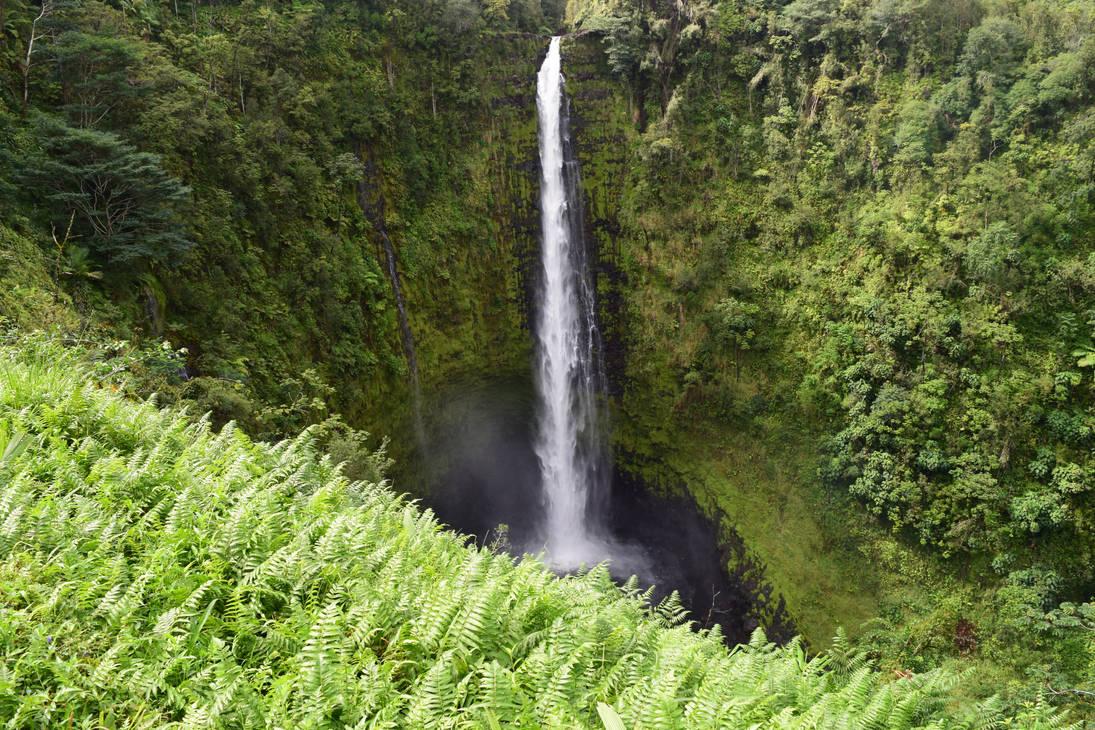 Akaka Falls, Hawaii by discoinferno84