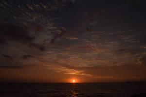 Sunset In Kona, Hawaii by discoinferno84
