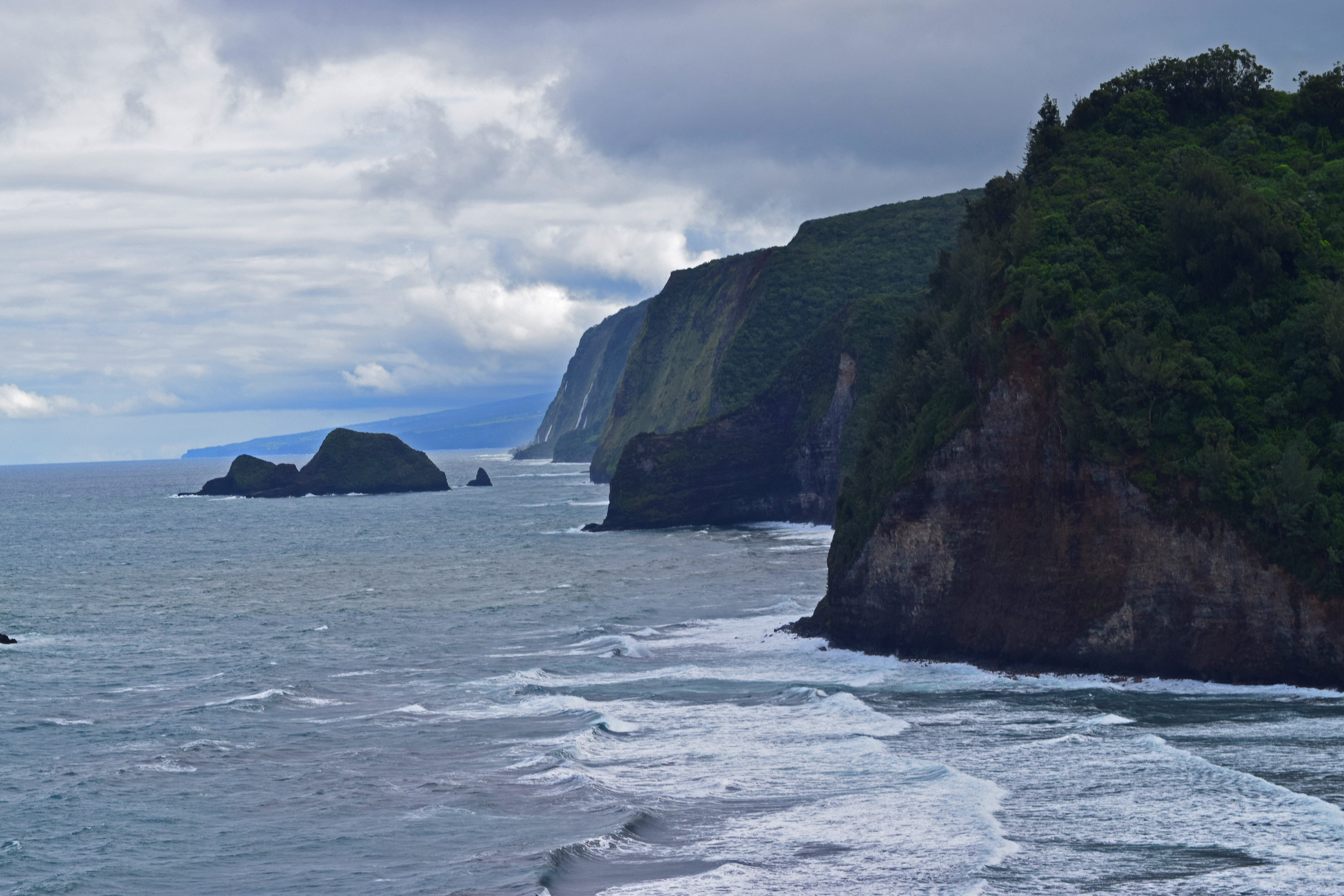 Pololu Valley Lookout, Hawaii by discoinferno84