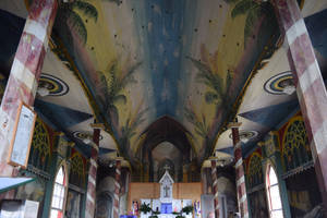St. Benedict's Painted Church by discoinferno84