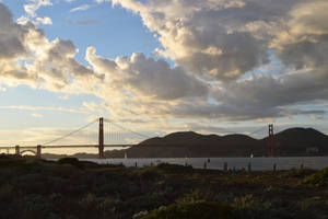 The Golden Gate At The End Of February by discoinferno84
