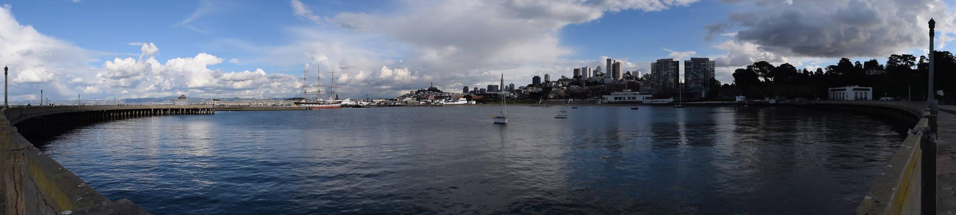 Municipal Pier Panorama by discoinferno84