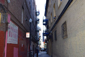 Ross Alley, San Francisco by discoinferno84