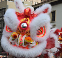 Chinese Lion Blur by discoinferno84