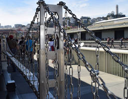 The Chain Link Golden Gate by discoinferno84
