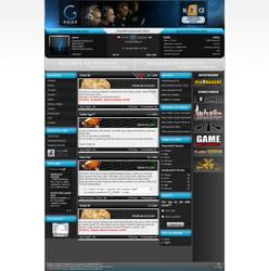 Gaming portal design no.1 by aevel