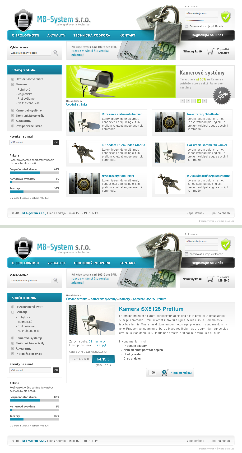 Security device eCommerce by aevel