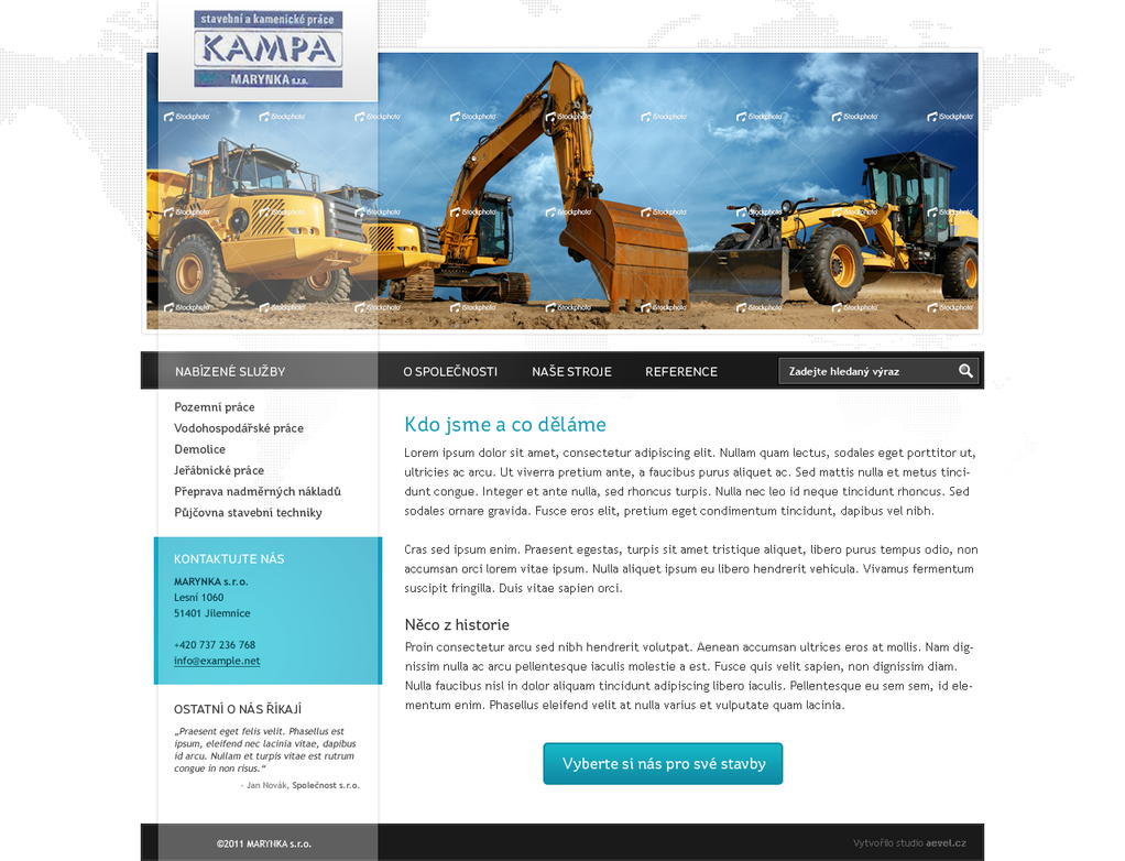 construction works by aevel d3ecmgf Web Design Interface Collection of Inspiration