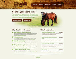 Horse stabling