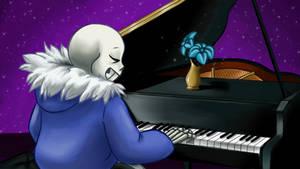 Its Raining Somewhere-Piano-Undertale the Musical