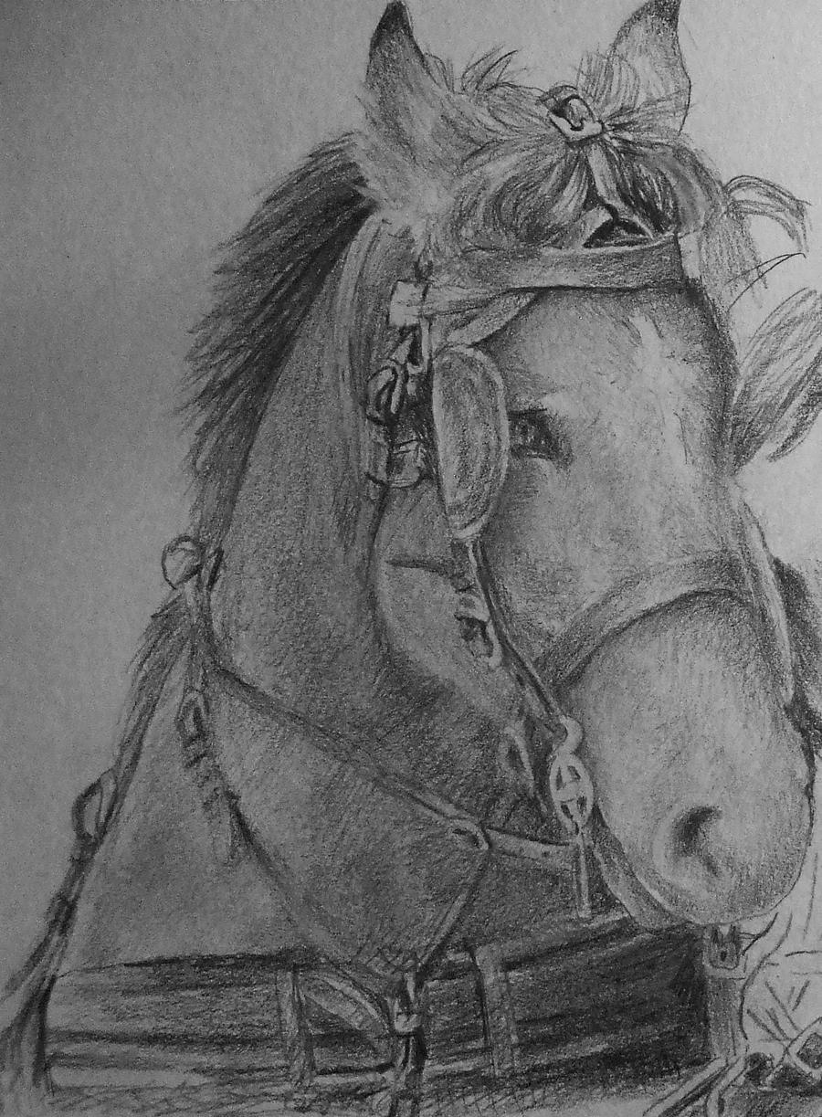 Horses WIP by EshiraArt
