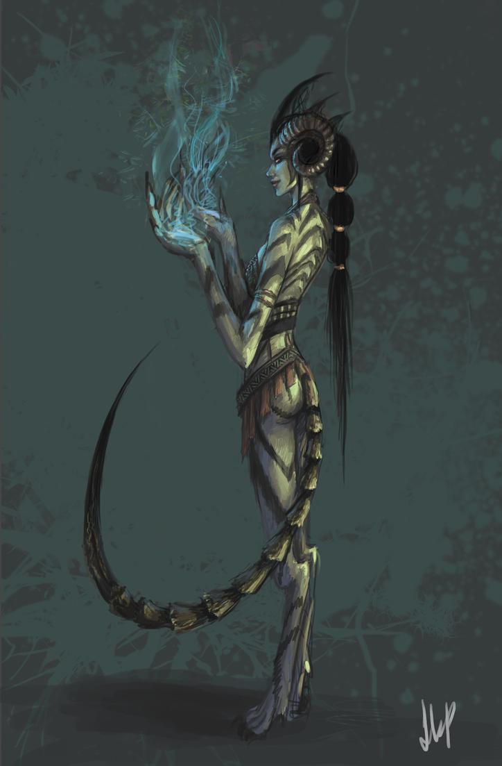 Creature by EshiraArt