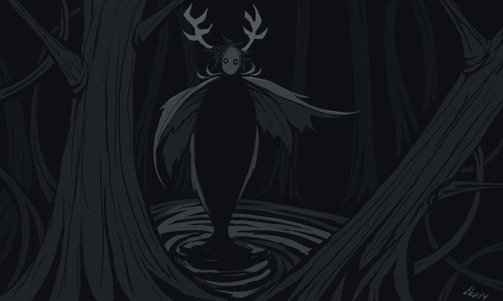 Forest spirit by EshiraArt