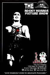 Rocky Horror Flyer [based on The Godfather poster]