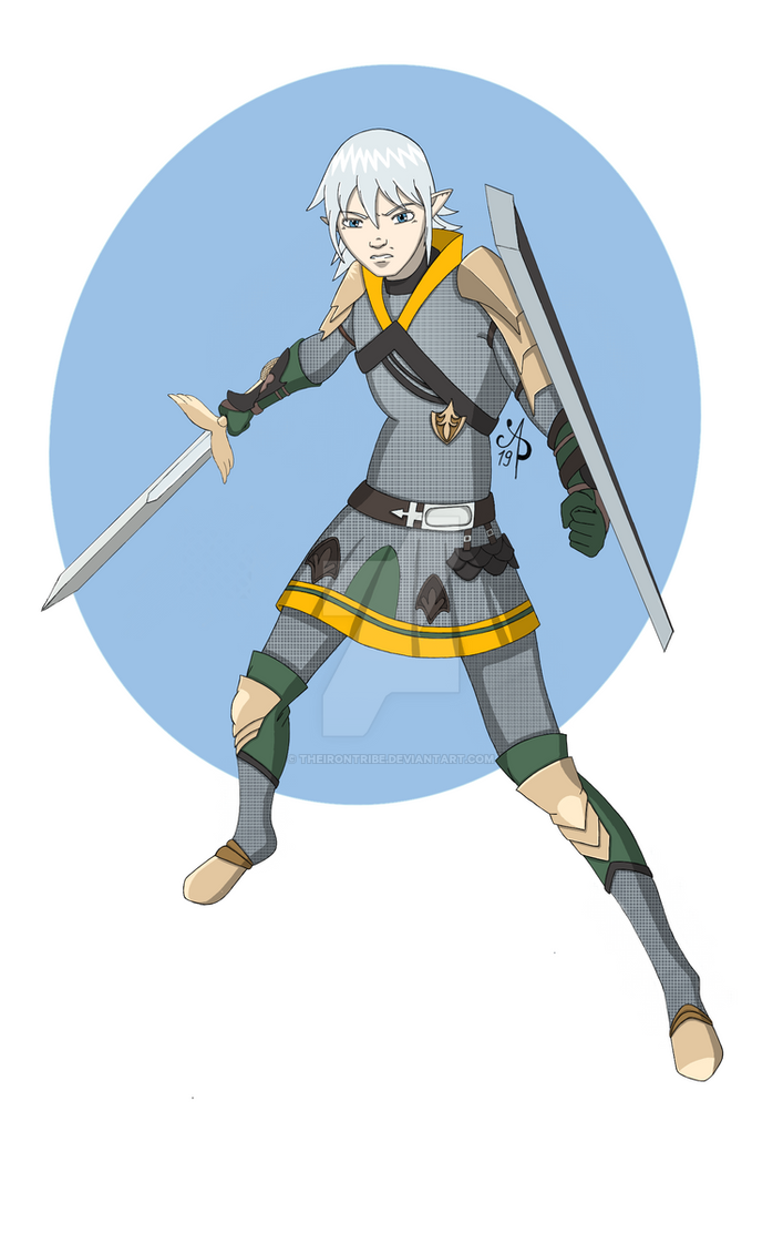 FFXIV: Young Haurchefant by theirontribe