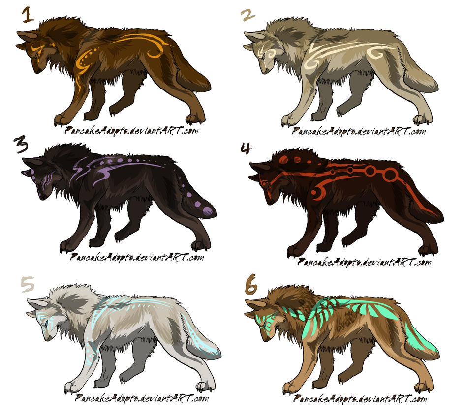 Tribal Wolf Wallpaper: Natural Tribal Adopts CLOSED By DiscoDogg On DeviantArt
