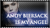 Andy Biersack Is My Angel Stamp - REQUESTED by el-Jimmeister