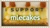 I Support Mlecakes Stamp - REQUESTED by el-Jimmeister