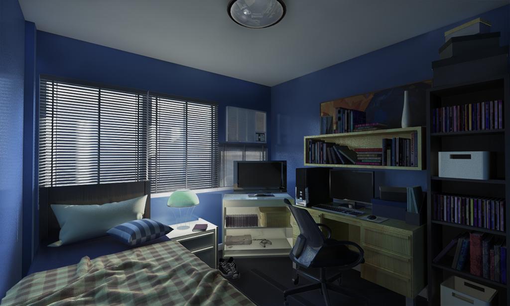 Http El Jimmeister Deviantart Com Art My Room Redo 551389609