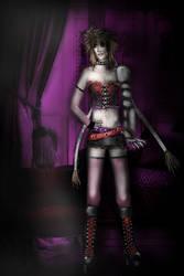 Albel Nox wearing Ebony Way's Outfit. XD by el-Jimmeister