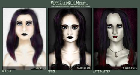 Draw This Again Meme - Ebony Way v2 by el-Jimmeister