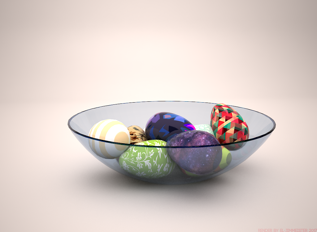 r/Daily3D 1320 - Easter Eggs by el-Jimmeister