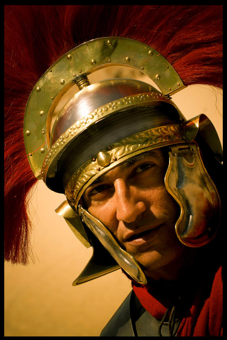 Roman legionnaire by lmajali