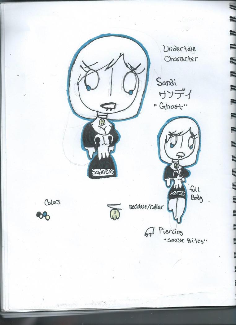 Undertale Oc :Sandi: by Dark-Moon-DUST