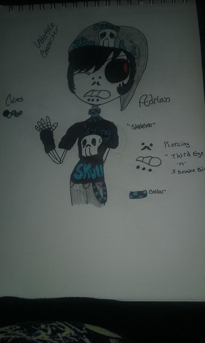 Undertale Oc :Adrian: by Dark-Moon-DUST