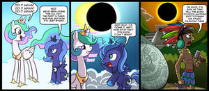 Luna and celestia adventures by CSImadmax