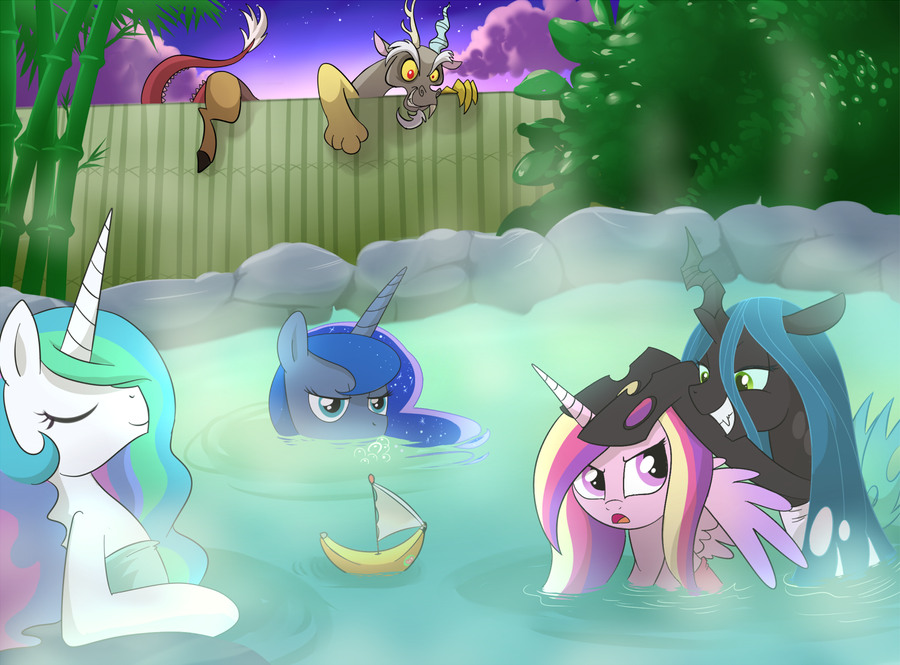 hot springs by CSImadmax