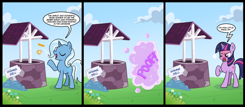wishing well of HORROR! by CSImadmax