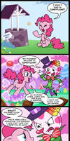 Pinkie adventures in candyland