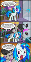 comic commission: Wubs and Octaves in Las Pegasus