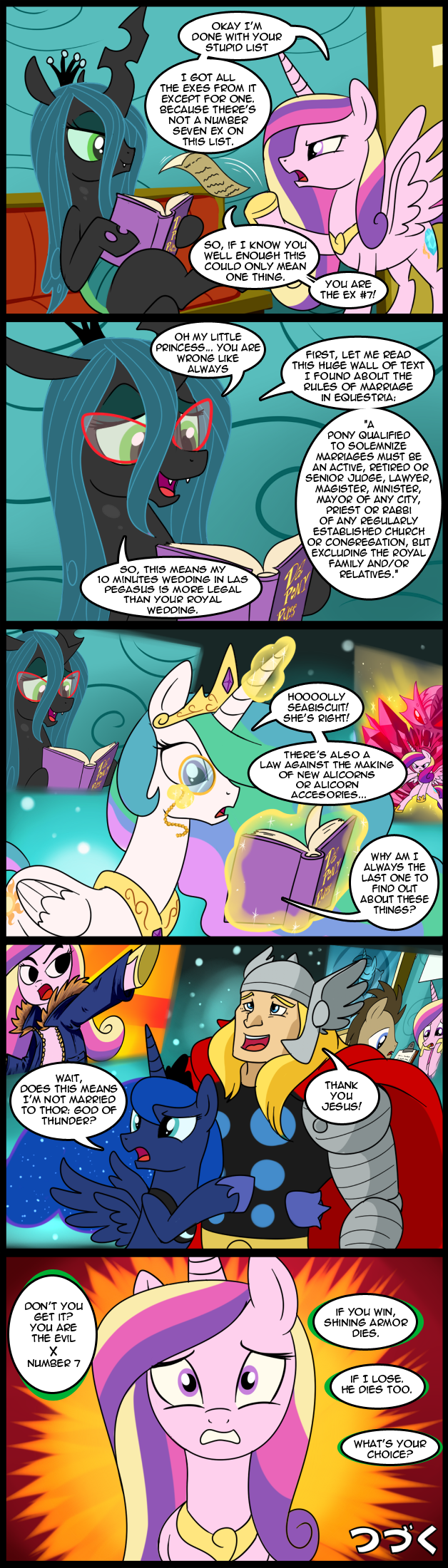 To Be Continued (again) by CSImadmax