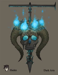 AH: Dark Arts Class Sign by Neemh