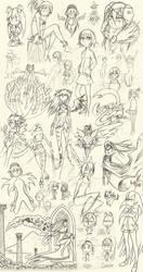 Sketch Dump 1 by Neemh
