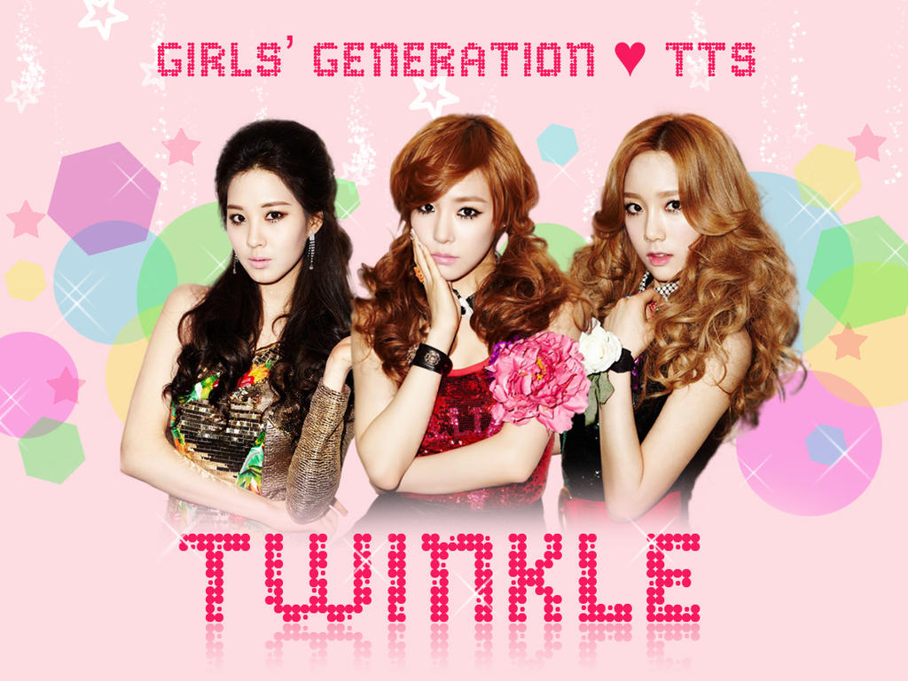 snsd tts taetiseo twinkle wallpaper by strawhat143 on