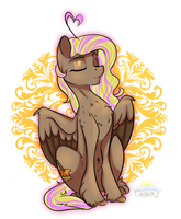 At With Butterscotch by laurabaggins